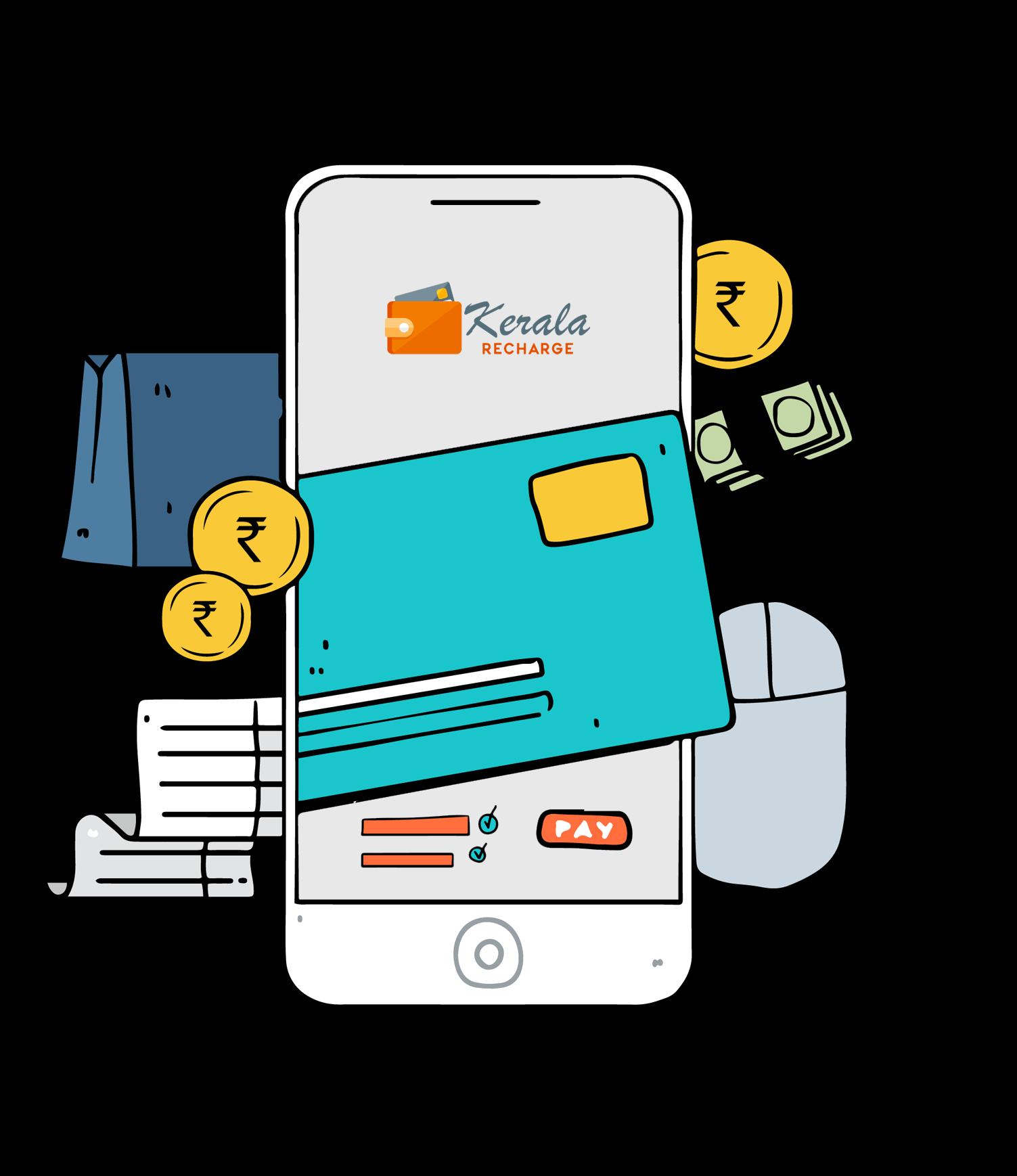 Kerala Recharge| Kerala mobile recharge online| mobile